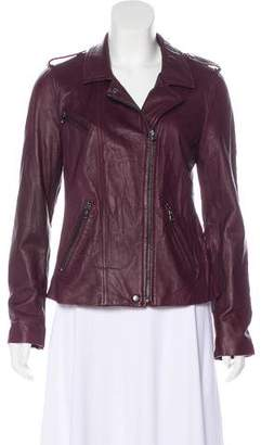 Rebecca Taylor Leather Moto Jacket w/ Tags