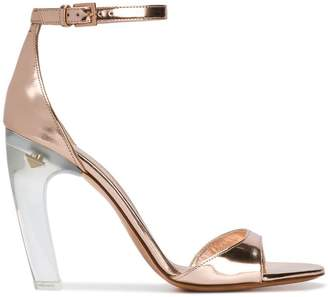 Valentino curved heel sandals