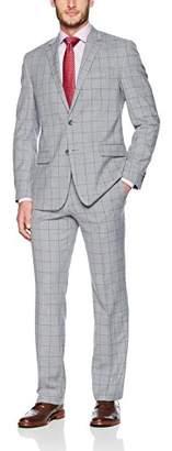 "Geoffrey Beene Men's 32"" Finished Bottom Suit"