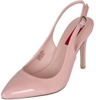 Dorothy Perkins Womens *London Rebel Nude Slingback Court Shoes