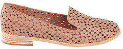 Django & Juliette NEW Womens Flats Anson Leather Flat Latte - Shoes
