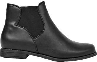 boohoo Pull On Elastic Gusset Chelsea Boots