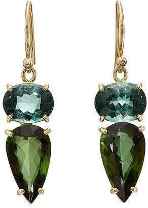 Irene Neuwirth Women's Mixed-Tourmaline Drop Earrings