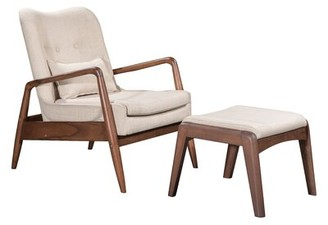 Corrigan Studio Marlowe Lounge Chair and Ottoman Corrigan Studio
