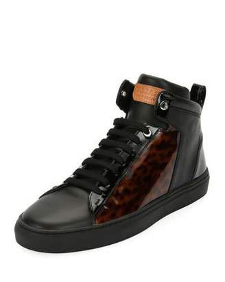 Bally Men's Hedo Turtle High-Top Sneakers