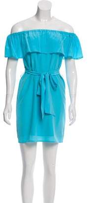 Yumi Kim Off-The-Shoulder Mini Dress