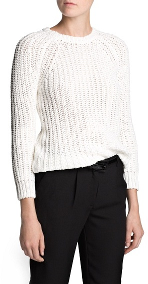MANGO Outlet Chunky Knit Sweater