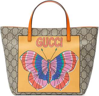 Gucci Children's GG butterfly tote