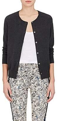 Etoile Isabel Marant Women's Napoli Cotton-Wool Cardigan - Grey