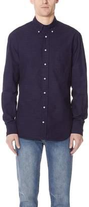 Gitman Brothers Long Sleeve Pin Dot Shirt