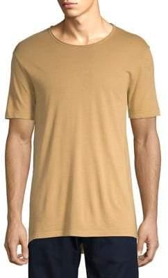 ASKYA Garment Dyed High-Low Jersey Tee