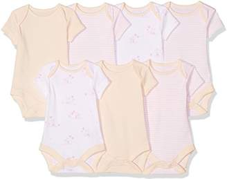 Mothercare Pink Bodysuits - 7 Pack,(Manufacturer Size:50)