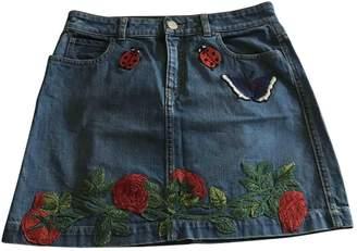 Gucci Blue Denim - Jeans Skirt