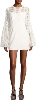 Nanette Lepore Spanish Dancer Lace Mini Dress