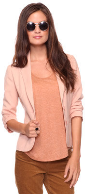 Forever 21 Notched Lapel Blazer
