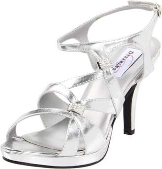 Dyeables Women's Claire Manmade Platform Sandal