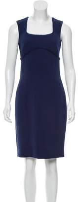 Sophie Theallet Silk-Trimmed Sheath Dress w/ Tags