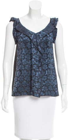 Marc Jacobs Marc Jacobs Printed Sleeveless Top