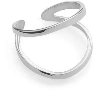 Ekria - Indochine Midi Ring Shiny White Gold