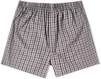 Sunspel Gingham Boxer Short