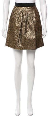 3.1 Phillip Lim 3.1 Phillip Lim Brocade Mini Skirt