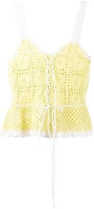 STAUD knit tank top