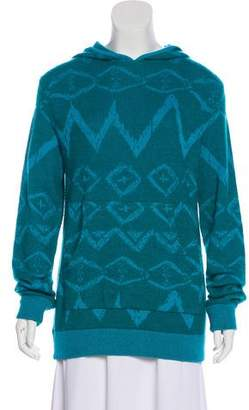Baja East Cashmere Patterned Sweater