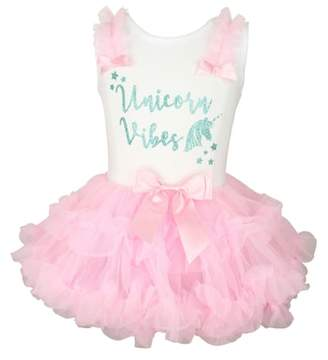 Popatu Unicorn Vibes Tutu Dress