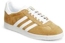 adidas Gazelle Topstitch Suede Sneakers