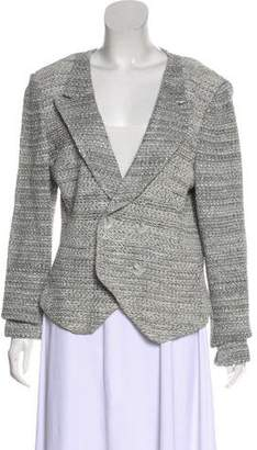 St. John Long Sleeve Knit Blazer