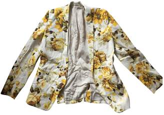 The Kooples Yellow Cotton Jacket for Women