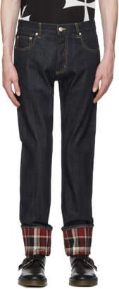 Alexander McQueen Indigo Japanese Denim Jeans