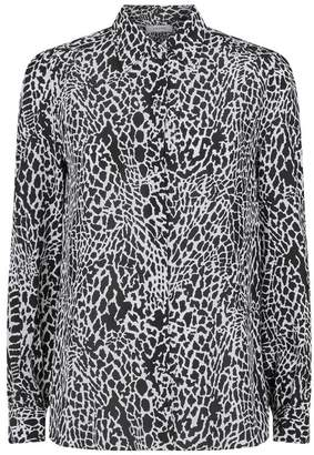 975bed5b995d2 Animal Print Silk Blouse - ShopStyle UK