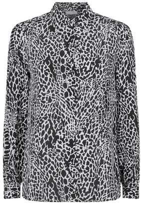 2c6082dd86f2a Animal Print Silk Blouse - ShopStyle UK
