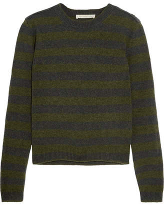 Vanessa Bruno - Heta Striped Wool Sweater - Navy