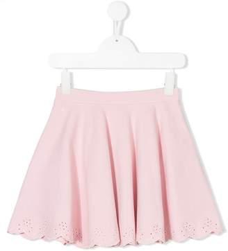 Ralph Lauren scalloped edge skirt