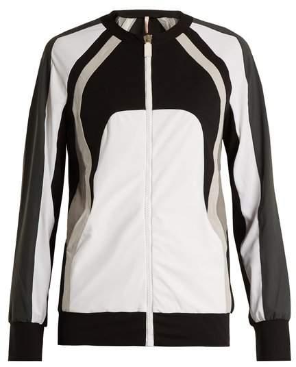 NO KA'OI Nola zip-through performance jacket