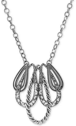 """""""Lasting Connections"""" Pendant Necklace in Sterling Silver"""