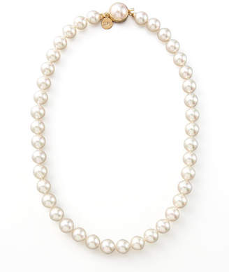 "Majorica Pearl Necklace, 18""L"