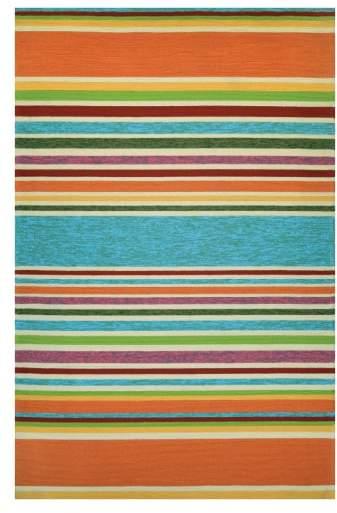 Sherbet Stripe Indoor/Outdoor Rug