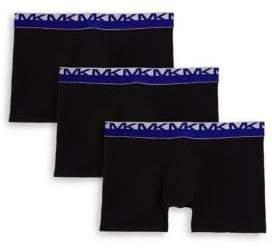 Michael Kors Three-Pack Stretch Factor Boxer Briefs