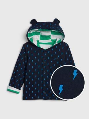 Gap Baby Stripe Hoodie Sweater