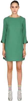 L'Autre Chose Double Wool Crepe Dress