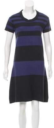 Burberry Striped Knit Dress