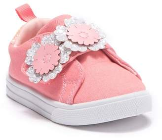 Osh Kosh OshKosh Blanche Glitter Faux Fur Sneaker (Toddler & Little Kid)