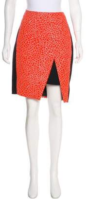 Ted Baker Jacquard Pencil Skirt
