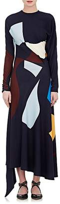 Victoria Beckham Women's Sash-Tie Ponte Dress