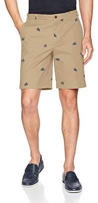 Izod Men's Saltwater Flat Front Shorts