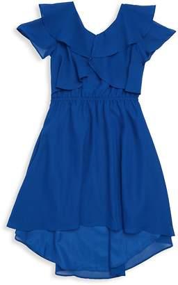 Blush by Us Angels Girl's Chiffon Dress
