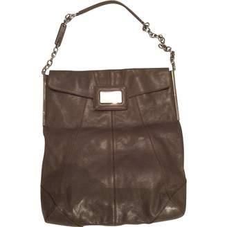 Roger Vivier Grey Leather Handbag